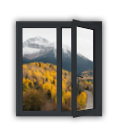 Fenêtre Cogne - Fenêtres, Fermetures et menuiserie à Saint Sauveur (Isère)