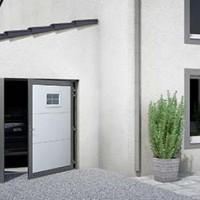 Porte de garage par Cogne - fenetres et fermetures à Saint Sauveur