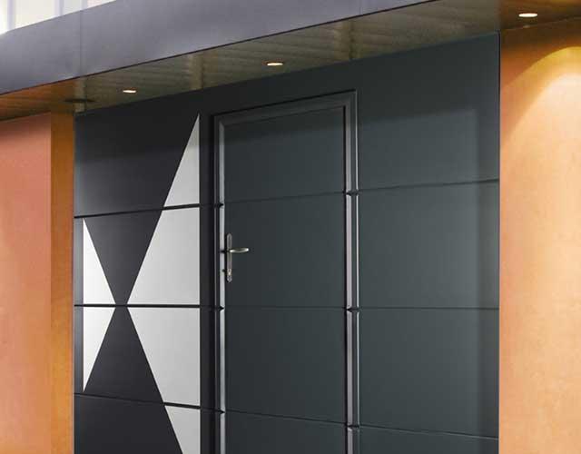 Portes de garage 04 Cogne - Fenêtres, Fermetures et menuiserie à Saint Sauveur (Isère)