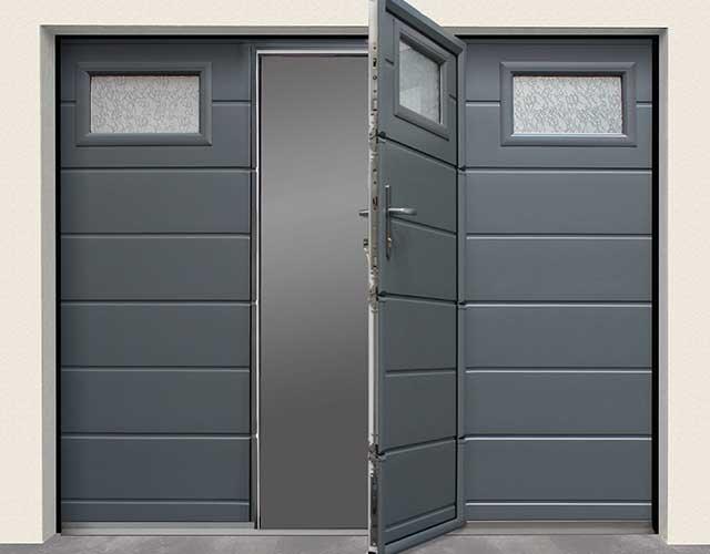 Portes de garage 02 Cogne - Fenêtres, Fermetures et menuiserie à Saint Sauveur (Isère)