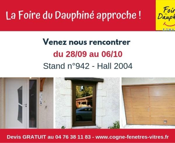 COGNE - Actu site_Foire Dauphiné de Romans 2019V3