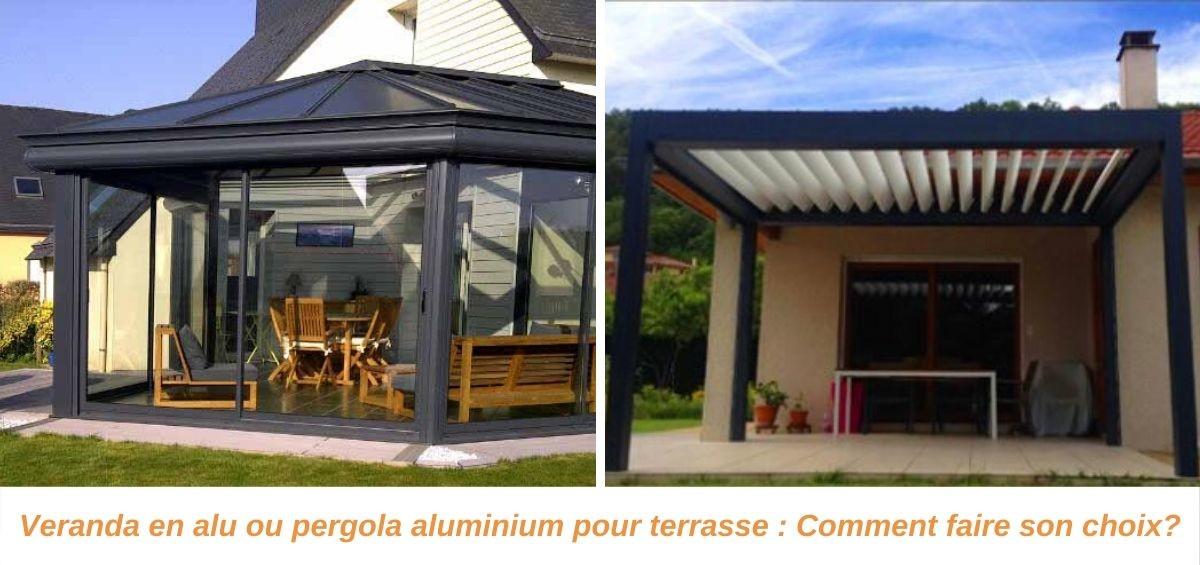 Pergola Aluminium Pour Terrasse Veranda En Alu Cogne