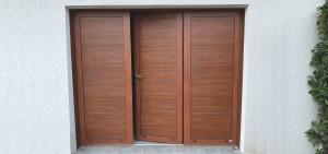 COGNE - porte de garage pliante - porte de garage coulissante electrique